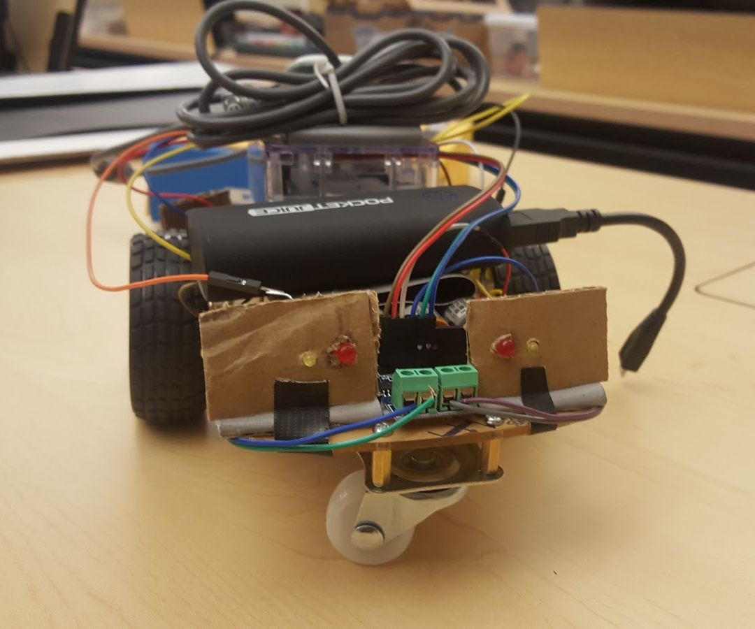 Remote Controlled Car Using Wireless Xbox 360 Wiringpi For Python Controller 5 Steps