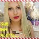 DIY Makeup Palette - DIY eyeshadow palette