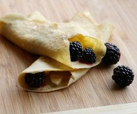 Gluten Free Crepes Recipe