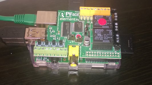 Connecting the Pi/Piface