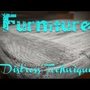 How to Distress Furniture With a Wire Wheel and Paint