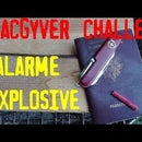Explosive Intrusion Alarm. the MacGyver Trap.
