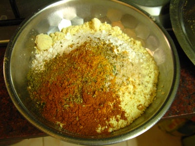 Mix Spices and Flour