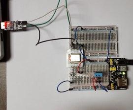 ESP8266 (Standalone) weather station using Arduino IDE and GadgetKeeper Cloud Platform