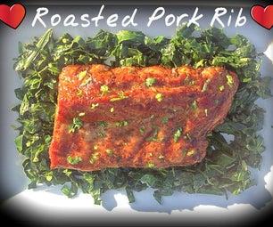 Roasted Pork Rib, Chicken Drum Sticks or Wings