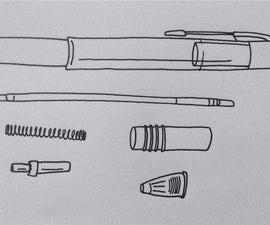 How to reassemble that pen that came apart in your backpack