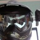 Making a Paintball mask Camera Mount