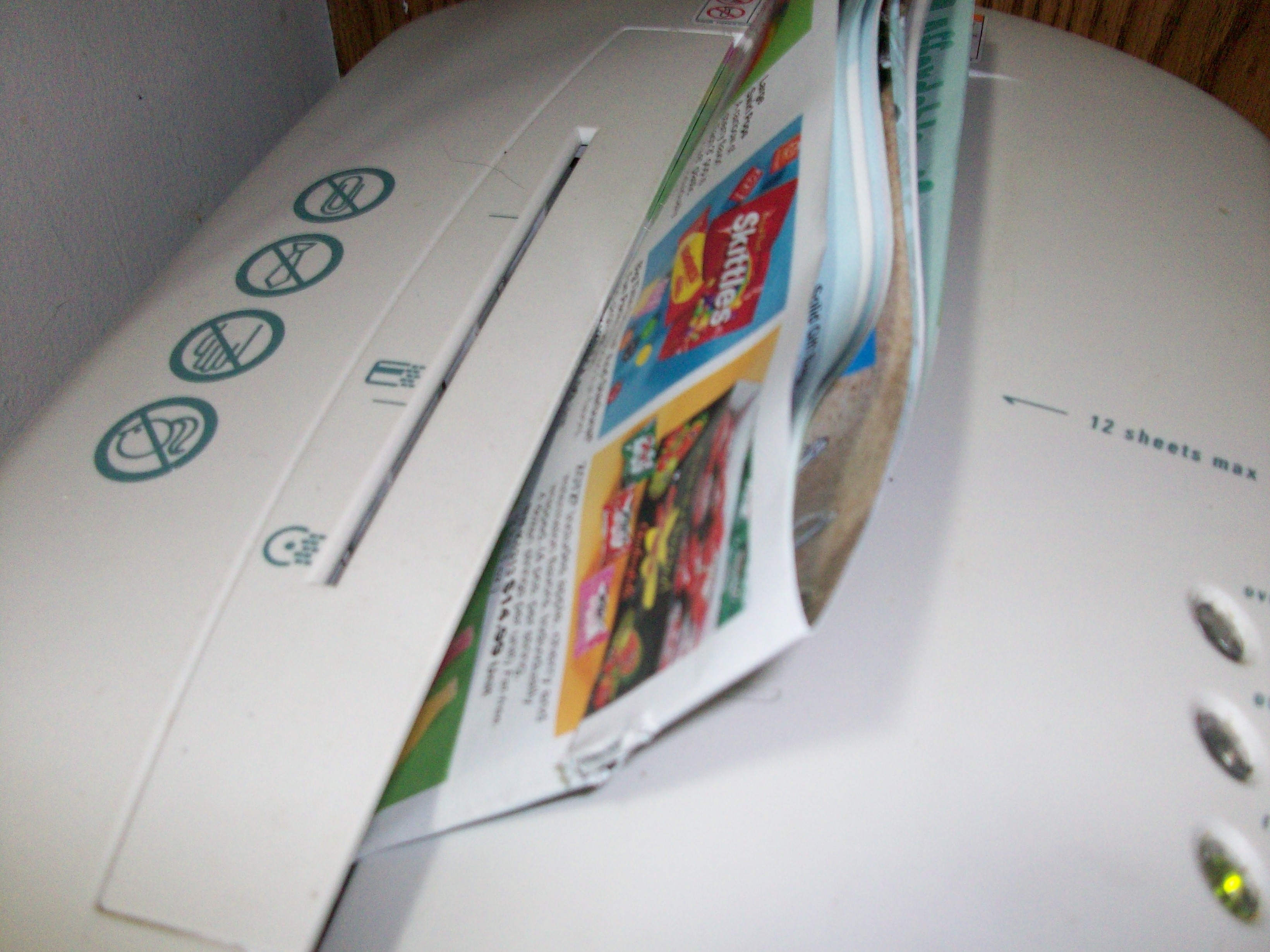Picture of Shredding the Paper