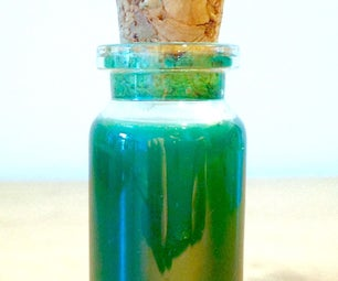 How to Make Green Ink From Verdigris