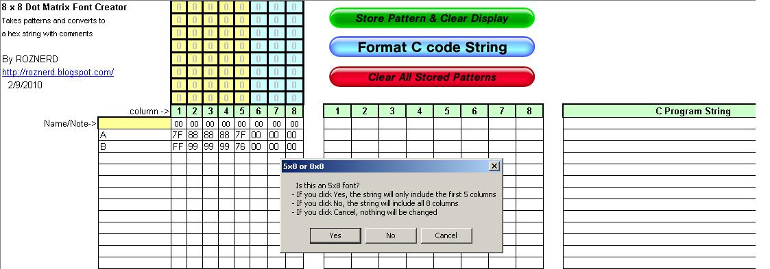 Picture of Format C Code String
