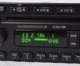 How to Make a Ford Audiophile Stereo Radio Play Mp3 Files.