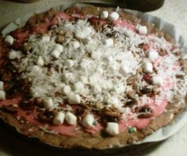 Sarah's Snack Mix Pizza