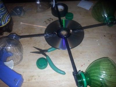 Making the Wind Catcher Wheel