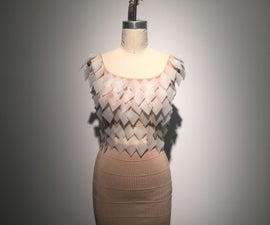 Experimental Defoliation Dress