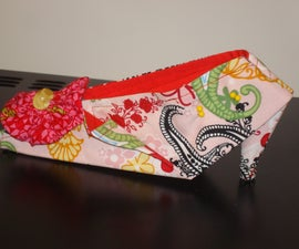 Origami Folded Earring Caddy