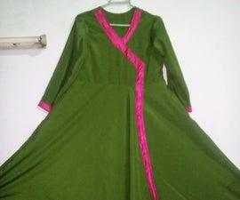 Angrakha Dress