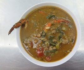 Crab & Sausage Gumbo
