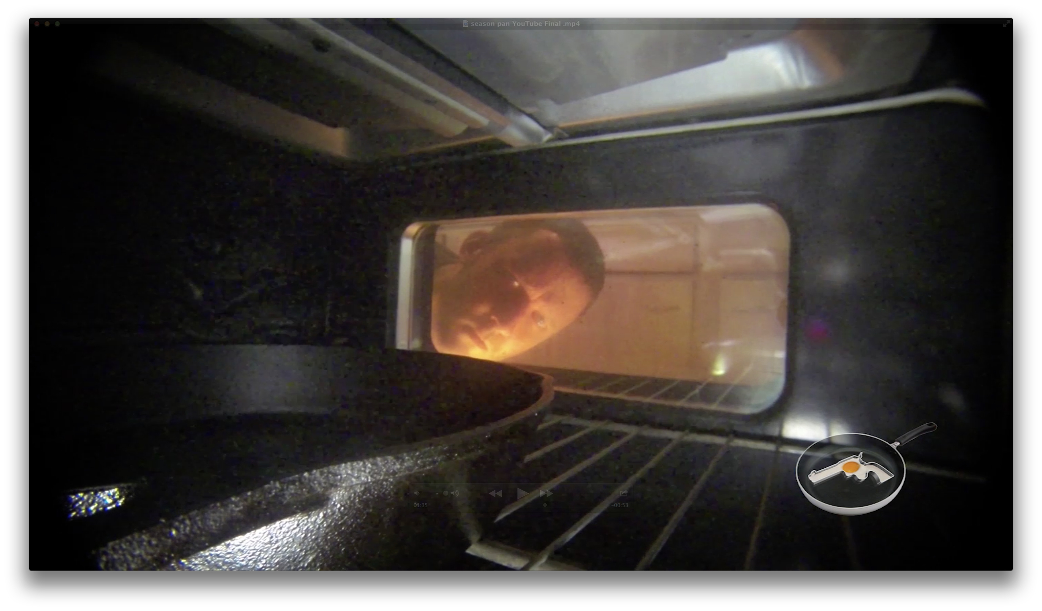 Picture of Get the Pan Smoking Hot...literally. (oven)