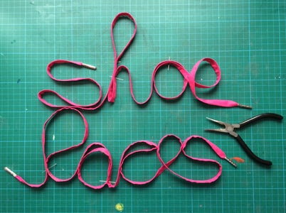 How to Sew Shoelaces