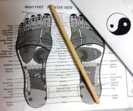 Acupressure Tool Made From Chopsticks