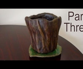 Part Three - Make a Planter for Concrete Casting - Latex Molding & Building the Mother Mold