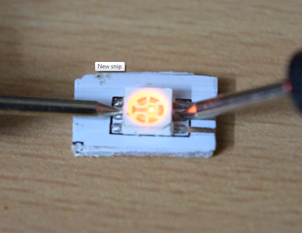 Picture of Prepare the LED