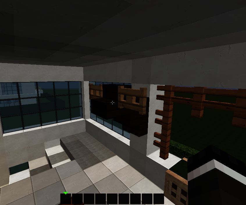 Tips For Making Modern Houses In Minecraft Interior 8 Steps Instructables