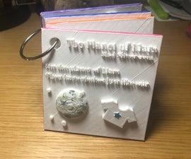 3D Printed Children's Tactile Book
