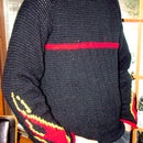 Hot Rod Sweater with Flames