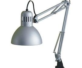 Arduino Internet Controlled Desk Lamp