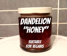 Dandelion Honey - Vegan alternative