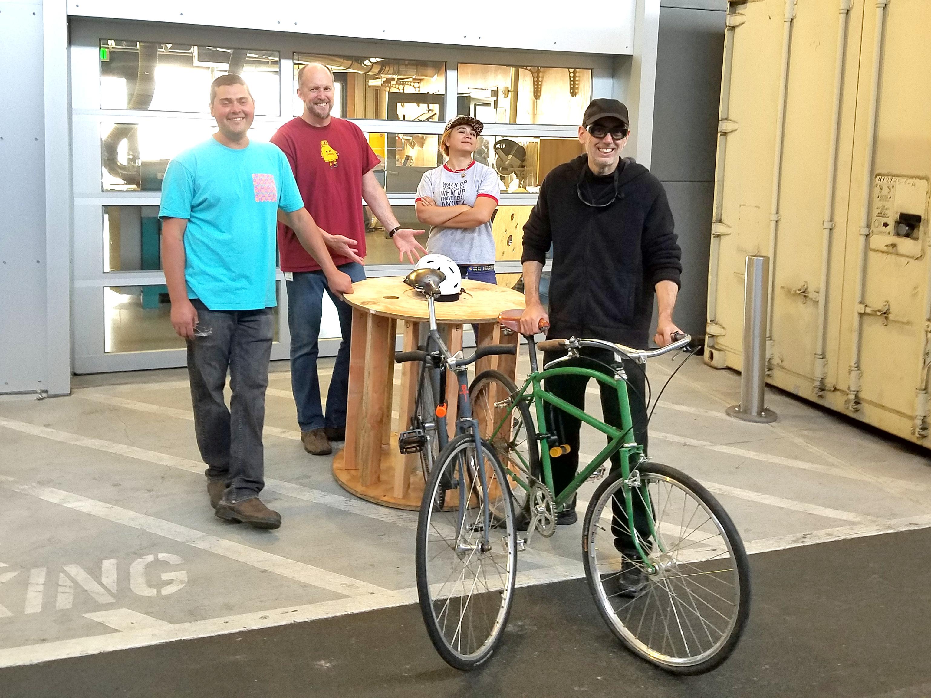Picture of Circular Bike Rack for Burning Man