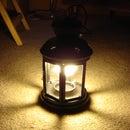 Convert a Tea Light Lantern to Compact Fluorescent