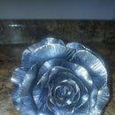 Blacksmithing a Metal Rose