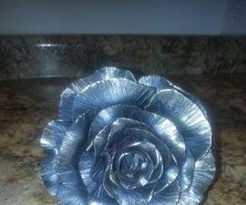 Blacksmithing a Metal Rose