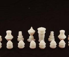 Spoken Word Chess Pieces