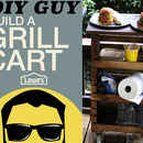 Easy Build Grill Cart - DIY Guy