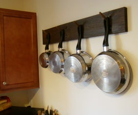 Wall Pot Rack - almost free!