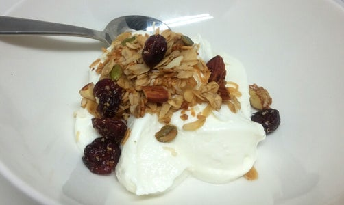 Clean Eating Cranberry Granola