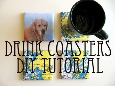 Drink Coasters - DIY Tutorial