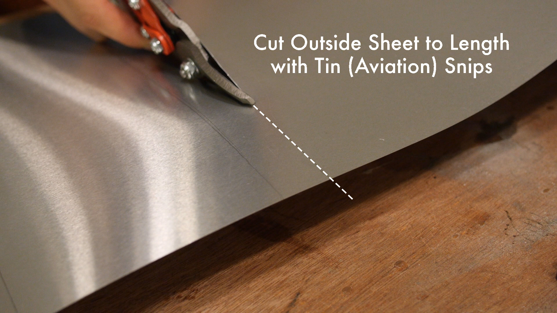 Picture of Measuring and Cutting the Outer Sheet