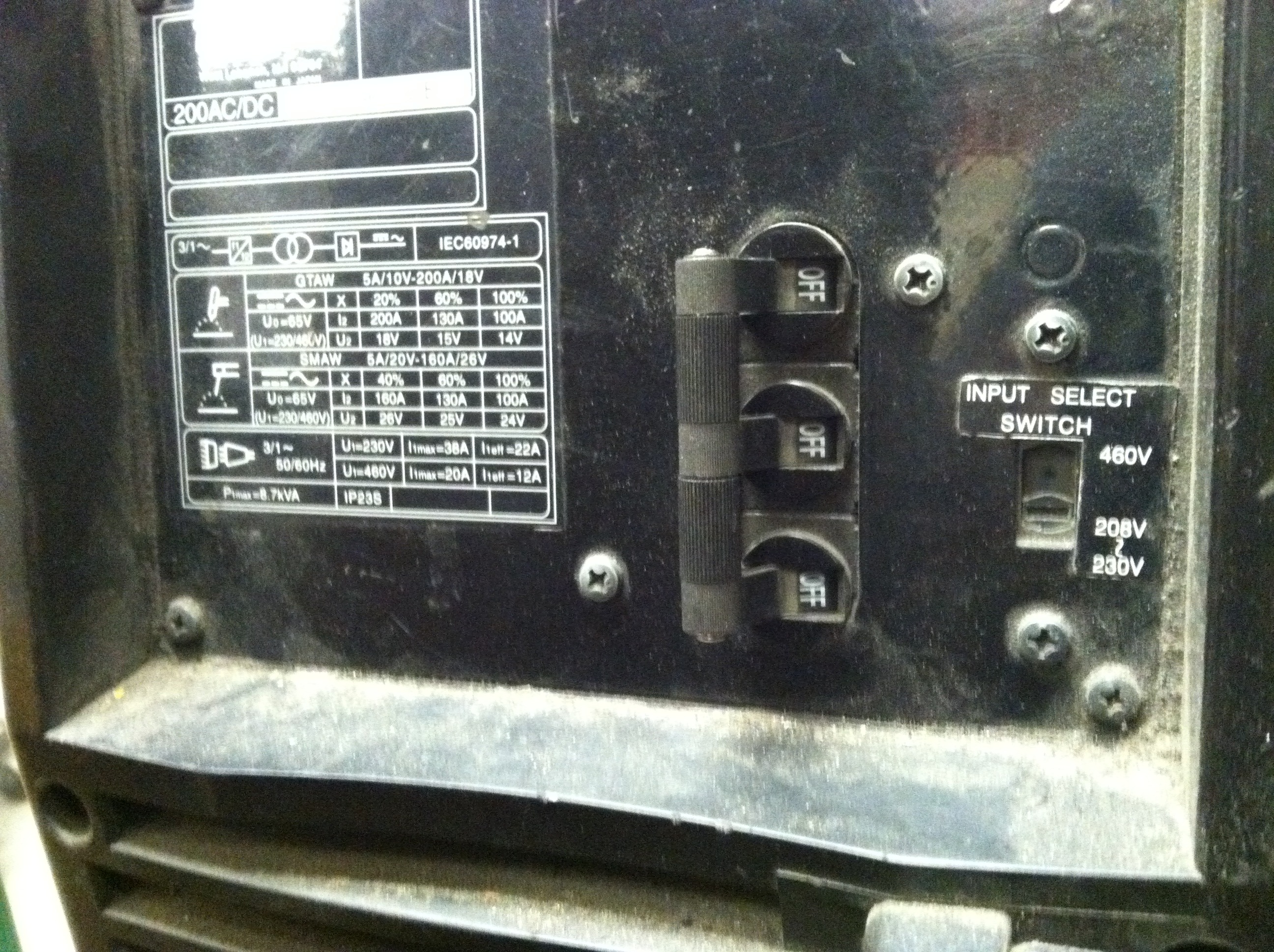 Picture of Plugging in and Turning on the Machine