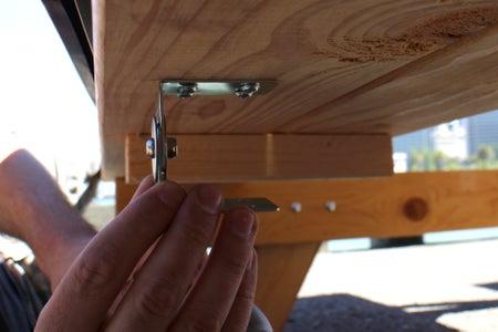 Trough Storage Under Bench