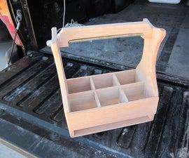 DIY Wooden 6 Pack Holder
