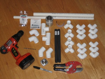 Parts List and Tools Needed
