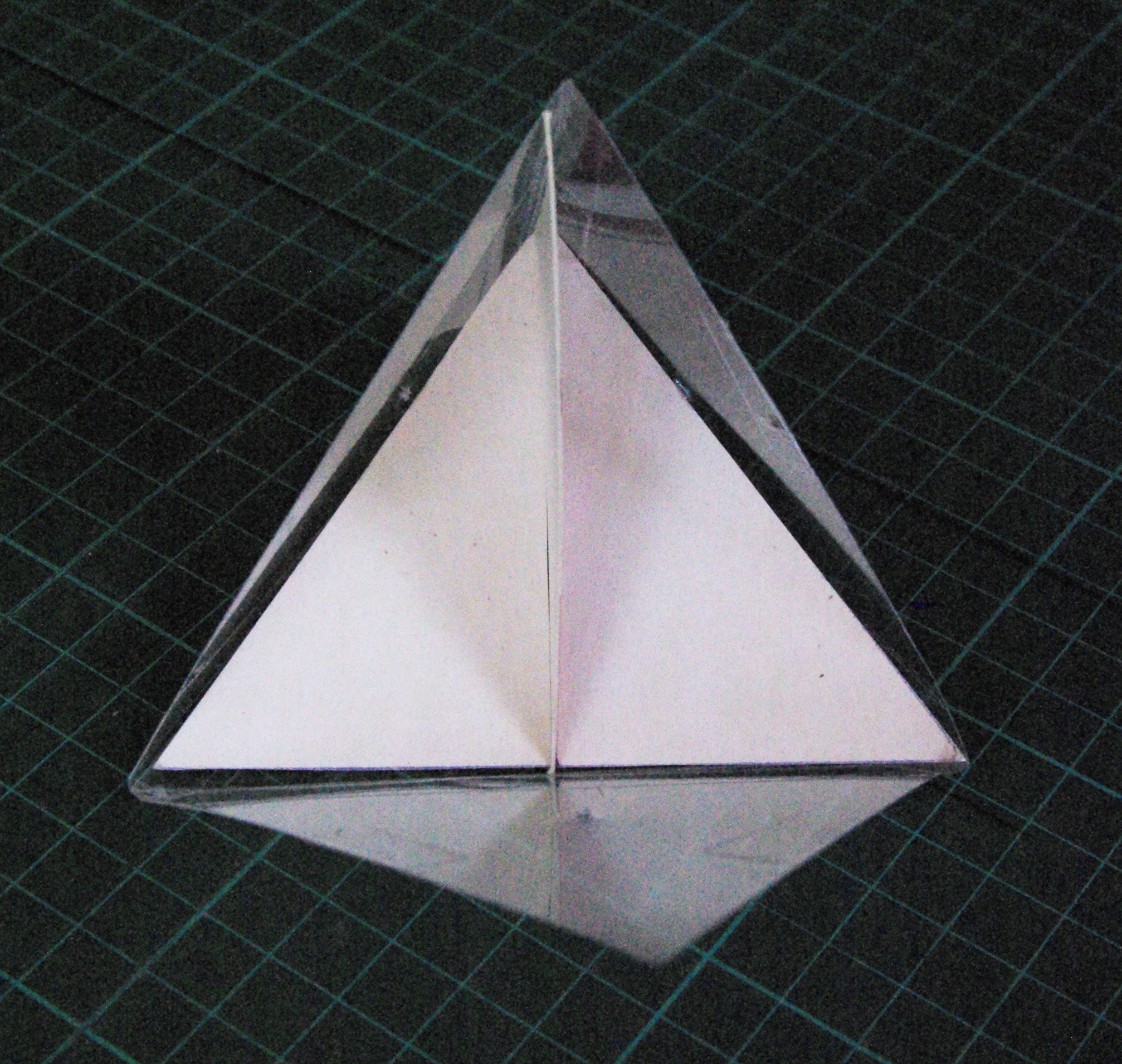 Picture of Working Out the Dimensions of the Four Non-regular Tetrahedra