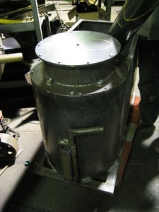 Fabricate a Frame for the Gasifier