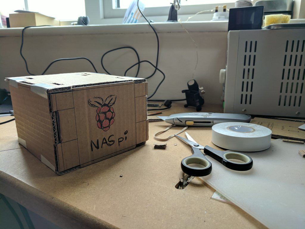 Picture of The NAS-pi Box
