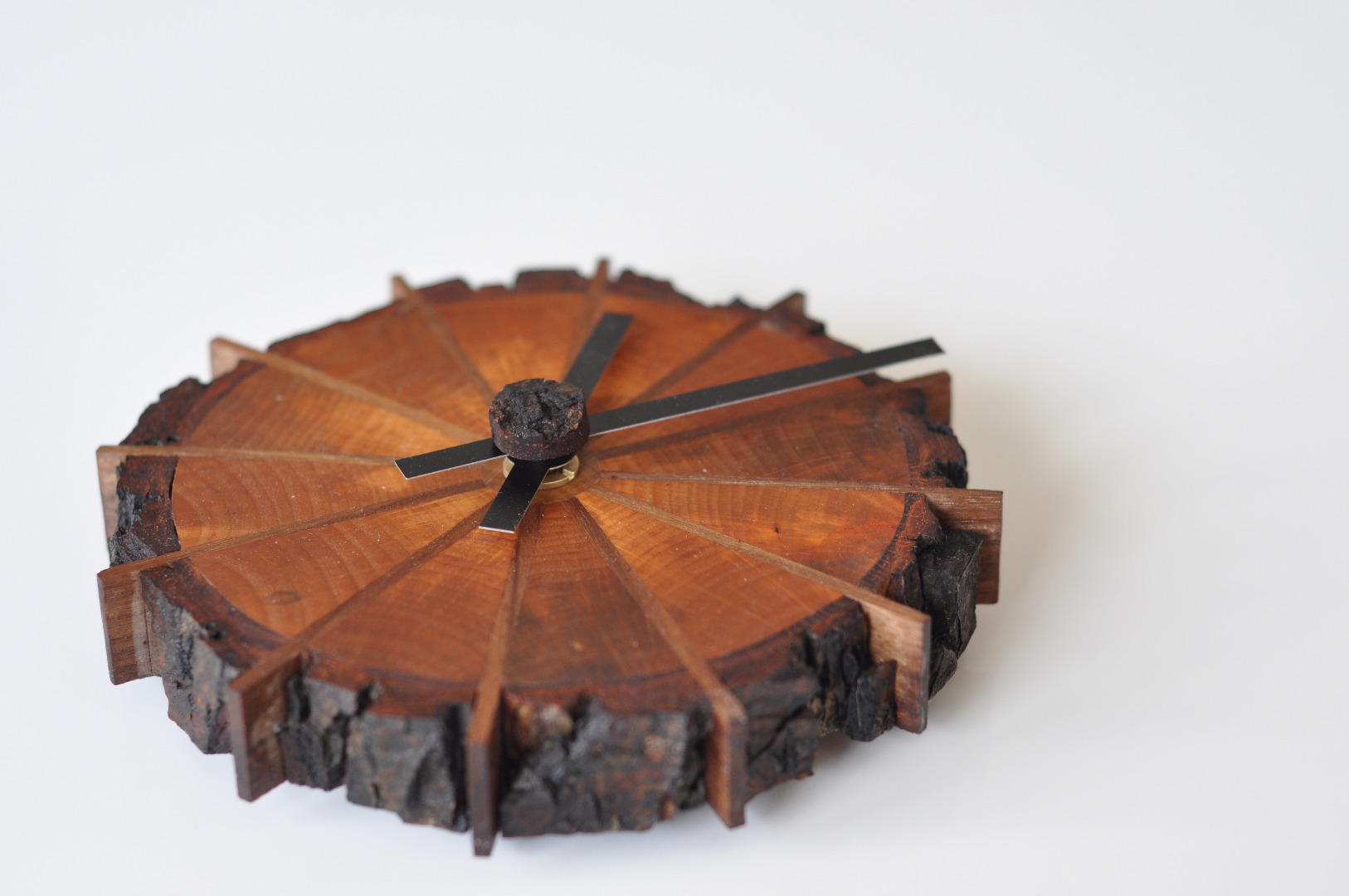Picture of A Natural Edge Shop Clock