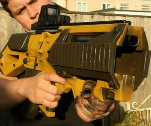 Borderlands Concept Assault Rifle Prop Replica